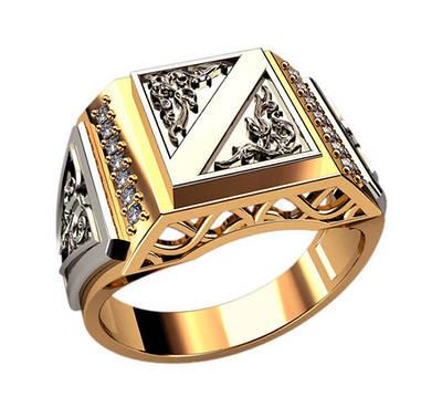 Мужские печатки, кольца, перстни