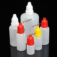5-100мл капельницы бутылки пустые пластиковые