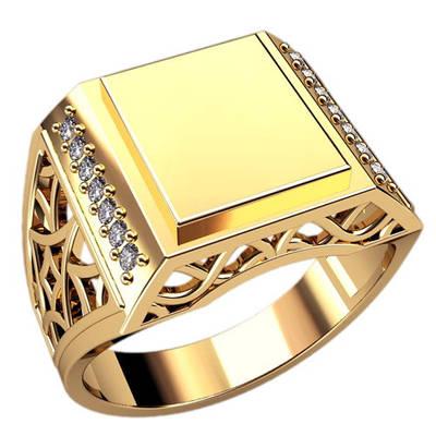Золотые печатки