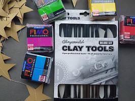 Высококачественные стеки пластик для лепки в фирменной подарочной коробке,8 шт.