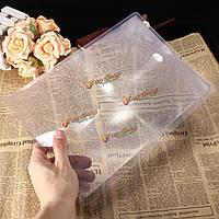 Полная страница пвх линза Френеля лупой лупой лист карты для чтения поделки 297x210mm