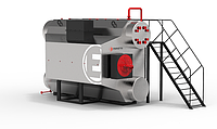Парогенератор серии Е (ДЕ) давлением до 1,4 МПа (газ,мазут) Е-2,5-1,4 ГМ (Э)