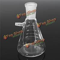 250мл 24/40 стекла химия фильтровальная колба лабораторная фильтрация бутылка стеклянная посуда