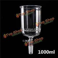 1000мл 24/40 стекла Бюхнера Воронка 90мм пластины пор лаборатории стеклянной посуды