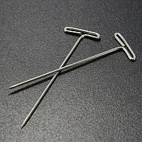 50шт нержавеющей стали т контактный DIY моделирование брошь длина значок швейные ремесел 38мм