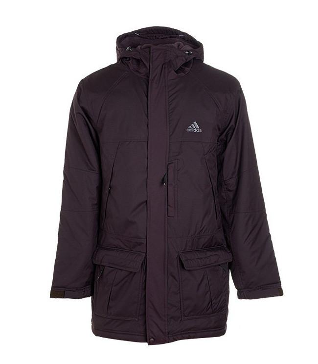 Куртка парка спортивная, мужская  Men's Adidas G91615 Trail Parka адидас
