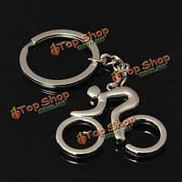 Езда велосипед спортивный стиль металла брелок брелок