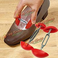 2шт footful Mini колодке носилки формирователь ширины регулируемый расширитель