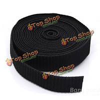 5м черный обвязки кабеля галстук волшебная лента