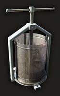 Пресс для сока, для винограда с корзиной на 6л полностью с нержавейки