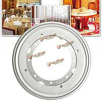 9-дюймов Щепка сверхмощный подшипник вращающийся поворотный поворотный стол тарелку для тв стойки стола стол