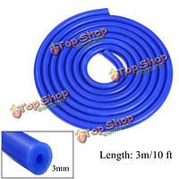 Воздух интеркулер переходник трубы 3мм Turbo 3m синий силиконовый вакуумный шланг