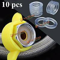 10шт прозрачные 1/2-дюйма шайбы резиновый шланг для душа кольца для трубки трубы ванны головки