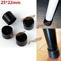 Резиновые металлические ободки ног стула защитника ножки мебели