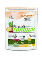 Сухой корм для собак мелких пород с уткой и рисом (Trainer Fitness3 Adult Mini With Duck, Rice, Oil) 2 кг.