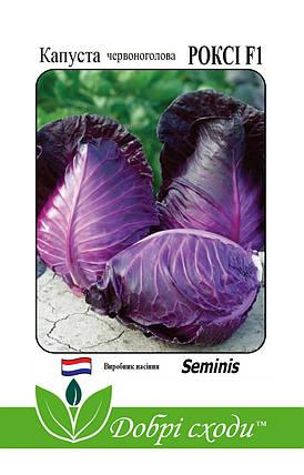 Семена капусты краснокочанной Рокси F1 20шт, фото 2