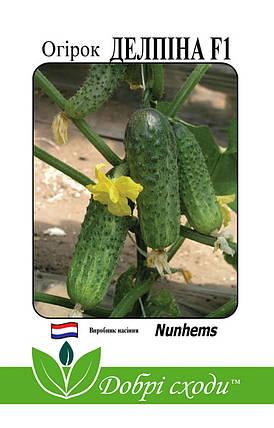 Семена огурца Делпина F1 10шт, фото 2