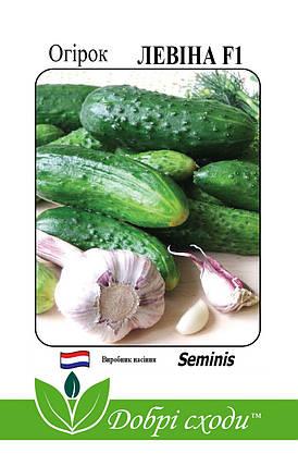 Семена огурца Левина F1 10шт ТМ ДОБРІ СХОДИ, фото 2