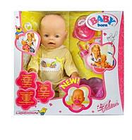 Кукла-пупс Baby Born с аксессуарами 8001-2