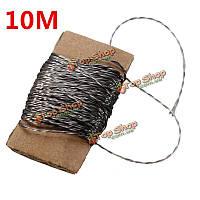 10 метров Lilypad поддерживая проводящая швейных ниток носимых