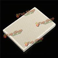 Пайке доска керамическая сотовая припой нагревательные плиты 135x95x13mm
