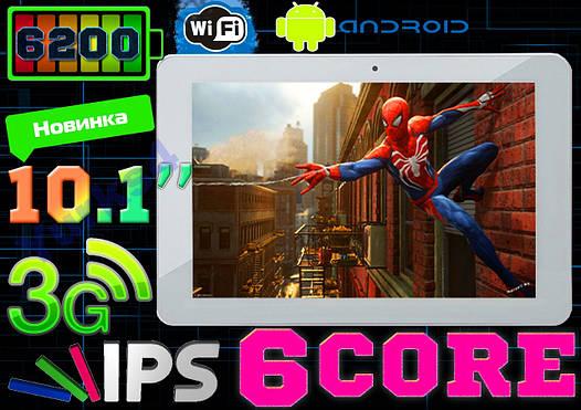 ХИТ Планшет GOCLEVER R105BK 6 core 1Gb/8Gb,3G, IPS