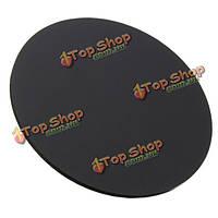 3мм круглый матовый черный акриловая пластина пластиковая доска панель 50-200мм