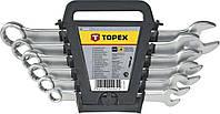 Набор ключей комбинированных ТМ Topex 6-19мм 8шт