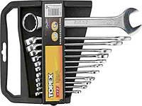 Набор ключей комбинированных ТМ Topex 6-22мм 12шт