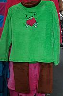 Женская пижама с вышивкой
