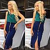 Удлиненная джинсовая юбка, фото 6