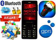 Новая Nokia 515 2 sim, bluetooth, GPRS, фонарик