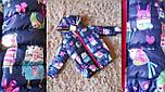 Детская стильная демисезонная куртка (4 принта), фото 2