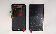 Дисплей  (экран) Motorola XT890, Razr i с черным сенсором и рамкой original.