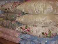 Подушка пух-перо от украинского производителя (50% пух, 50% перо) 70х70 см