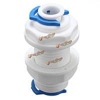 Адаптер 1/4 воды разъем очистителя система обратного осмоса часть с 2-мя застежками