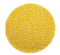 Красивый долговечный ковер желтого цвета из шерсти двухсторонний