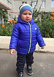 """Детская теплая демисезонная куртка """"Nike"""" (4 цвета), фото 4"""