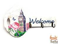 Декоративная настенная ключница London