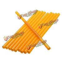 10шт 27см желтый клей палочки сильный клейкость для клея пистолета инструмент ремонта вмятины