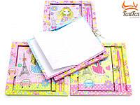 Оригинальный блокнот для девочки с ручкой