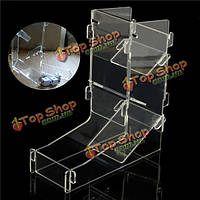 Акриловая прозрачная призма игровой кости башни DIY для игры 175x155x62mm
