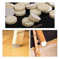 120шт круглый бежевый войлочные прокладки стол коврики дерева на полу ламинат мебель протекторы
