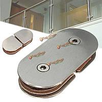 180° Полкодержатель перегородка из стекла кронштейн зажимы 8-11мм