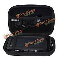 5-дюймов жесткий оболочки черный ева спутниковой навигации GPS хранение кейс крышка сумка для переноски