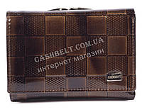 Лаковый женский кожаный кошелек высокого качества BODENSCATZ art.2239-А93 коричневый