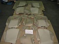 Модельные чехлы Geely Emgrand 7 бежевые