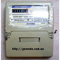 Трехфазный однотарифный электросчетчик ЦЭ 6804U 1Т 220В 10-100А МР31  Энергомера