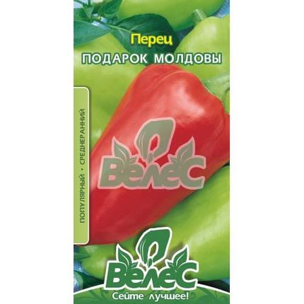Семена перца сладкого Подарок Молдовы 0,3г ТМ ВЕЛЕС, фото 2