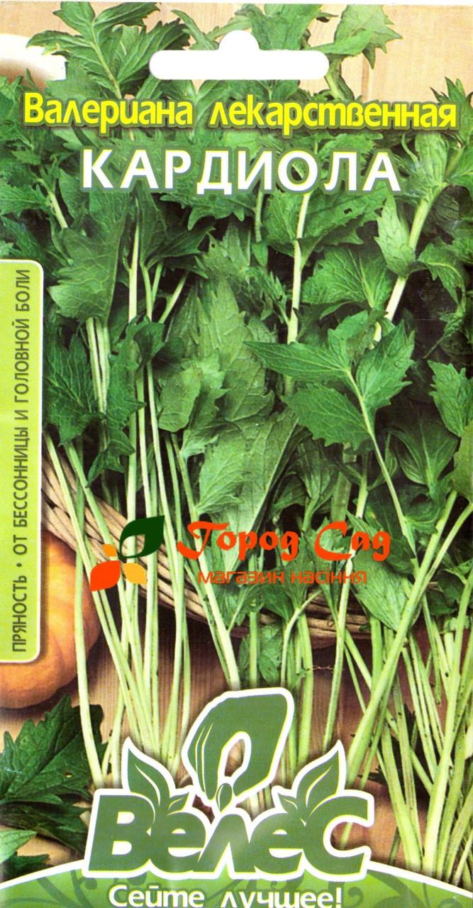 Семена валерианы лекарственной Кардиола 0,1г ТМ ВЕЛЕС